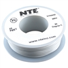 HOOK UP WIRE 300V STRANDED TYPE 26GAUGE WHITE 25 FEET